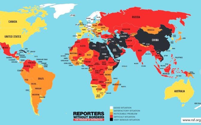 estonia ranks high in press freedom
